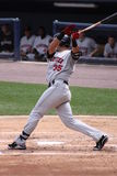 Rochester Red Wings batter Aaron Bates Stock Photo