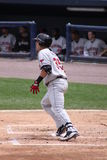 Rochester Red Wings batter Aaron Bates Stock Image