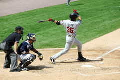 Rochester Red Wings batter Aaron Bates Stock Photography