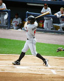 Rochester Red Wings batter Brandon Roberts Stock Image