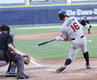 Rochester Red Wings batter Dustin Martin Stock Photo