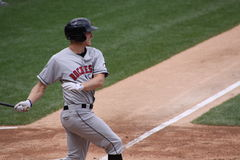Rochester Red Wings batter Dustin Martin Royalty Free Stock Images