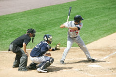 Rochester Red Wings batter Jeff Bailey Stock Photo