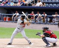 Rochester Red Wings batter Jeff Clement Stock Photo