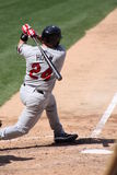 Rochester Red Wings batter Steve Holm Stock Photography