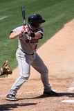 Rochester Red Wings batter Steve Holm Royalty Free Stock Photography