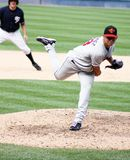 Rochester Red Wings pitcher Carlos Gutierrez Royalty Free Stock Photos