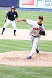 Rochester Red Wings pitcher Carlos Gutierrez Royalty Free Stock Images