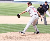 Rochester Red Wings pitcher Carlos Gutierrez Stock Photo