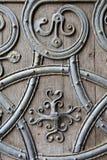 ROCHESTER, REGNO UNITO: Primo piano sulla porta di entrata occidentale della cattedrale di Rochester Immagini Stock Libere da Diritti