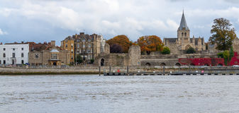 Rochester Cathedral Rochester Kent UK Royalty Free Stock Photography