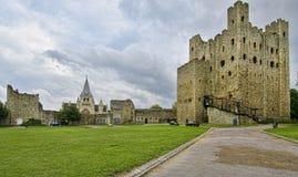 Rochester slott Arkivfoton