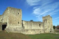 Rochester slott i England Arkivbild