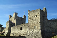 Rochester slott i England Royaltyfria Foton