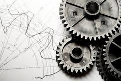 Rochets mécaniques Images libres de droits