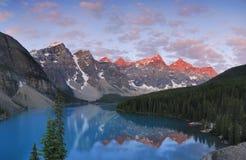 Rochoso canadense Foto de Stock Royalty Free