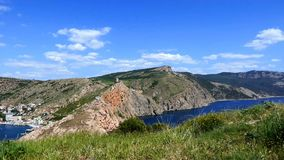 Rochoso, paisagem do mar vídeos de arquivo
