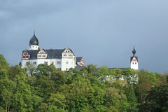 Rochsburg castle Royalty Free Stock Images