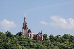 Rochus chapel in Bingen Stock Photography