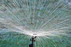 Rociador de la irrigación Foto de archivo libre de regalías