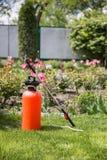 Rociador del pesticida foto de archivo