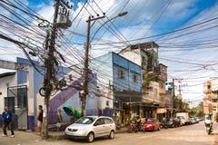 Rocinha Favela en Rio de Janeiro Imagen de archivo