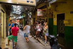 Rocinha Favela en Rio de Janeiro Imagenes de archivo