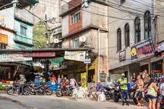 Rocinha Favela in Rio de Janeiro Stock Photo