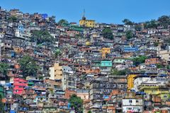 The Rocinha Favela, Rio De Janeiro, Brazil Stock Image