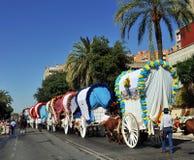 Rocio pilgrimage, Andalusia, Spain Stock Image