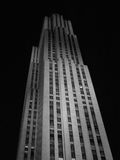 Rock. The GE Building, Rockefeller Center, New York City stock image