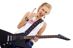 Rock on! Royalty Free Stock Photos