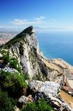 The Rock. The Famous Rock of Limestone - Gibraltar Royalty Free Stock Image
