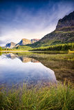 红色Rock湖 库存图片
