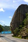Rock. On the coast of Koh Samui, Thailand Royalty Free Stock Photo