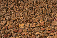 Rock adobe wall Royalty Free Stock Image