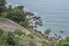 Rock (Adriatic Sea) Stock Image