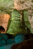 Rock of Ages. Carlsbad Caverns Big Room Route royalty free stock images