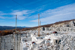 Rock of Ages Quarry in Barre, Vermont Royalty Free Stock Image