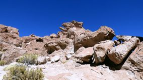Rock in Altiplano. Bolivia, south America. Stock Images