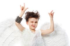 Rock Angel Stock Images
