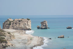 Rock of Aphrodite, Paphos, Cyprus Royalty Free Stock Photos