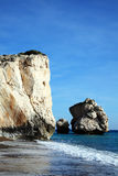Rock of Aphrodite Stock Photography