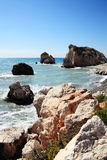 Rock of Aphrodite (Petra Tou Romiou) Royalty Free Stock Image