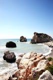 Rock of  Aphrodite (Petra Tou Romiou) Stock Photos