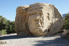 Rock, Archaeological Site, Historic Site, Bedrock royalty free stock photo