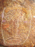 Rock Art abstract Stock Photography