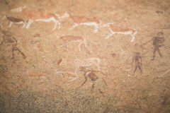 Rock art stock photo