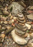 Rock Art. A stack of rocks made into a artform Royalty Free Stock Photography
