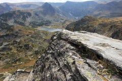 Rock av överkanten Arkivbilder